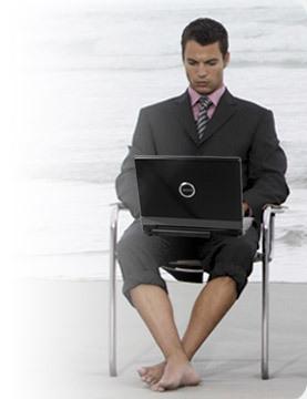 La moitié des salariés continue de travailler en vacances