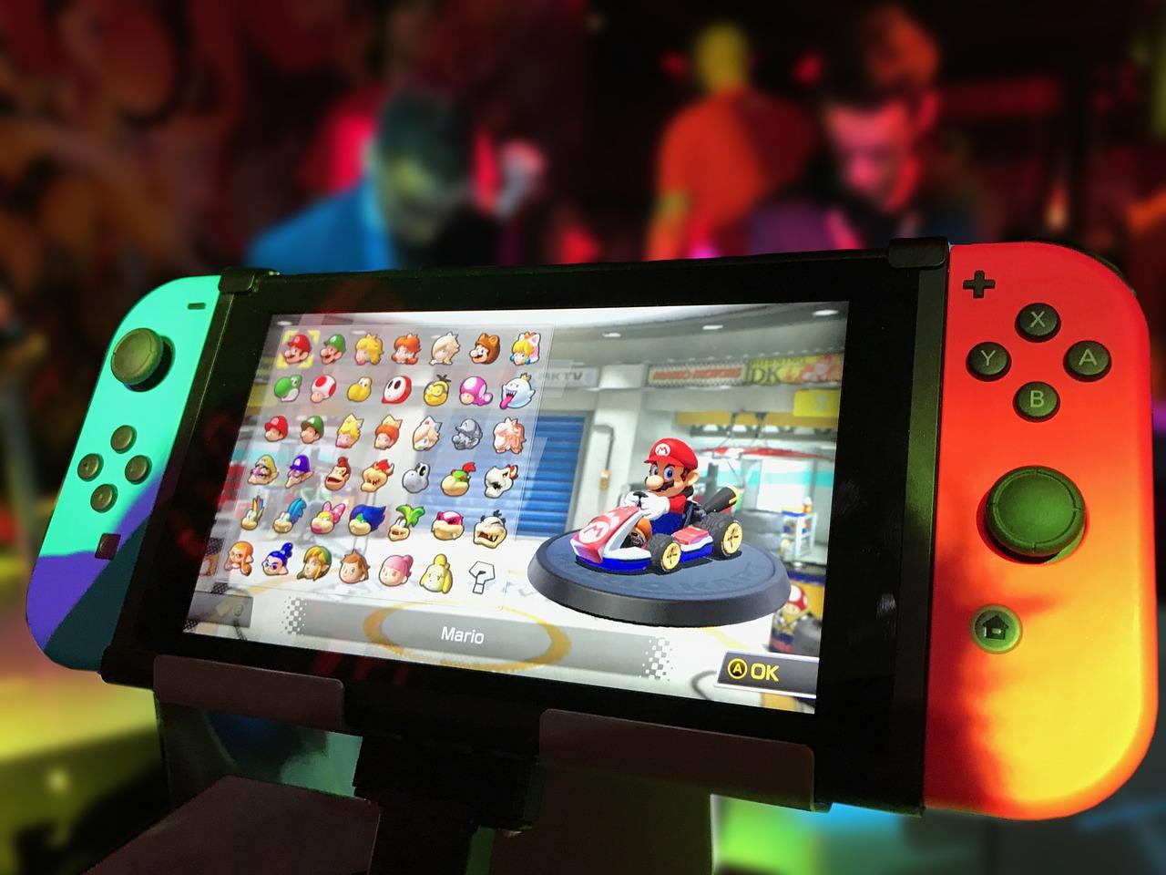 Nintendo sort la tête de l'eau avec la Switch