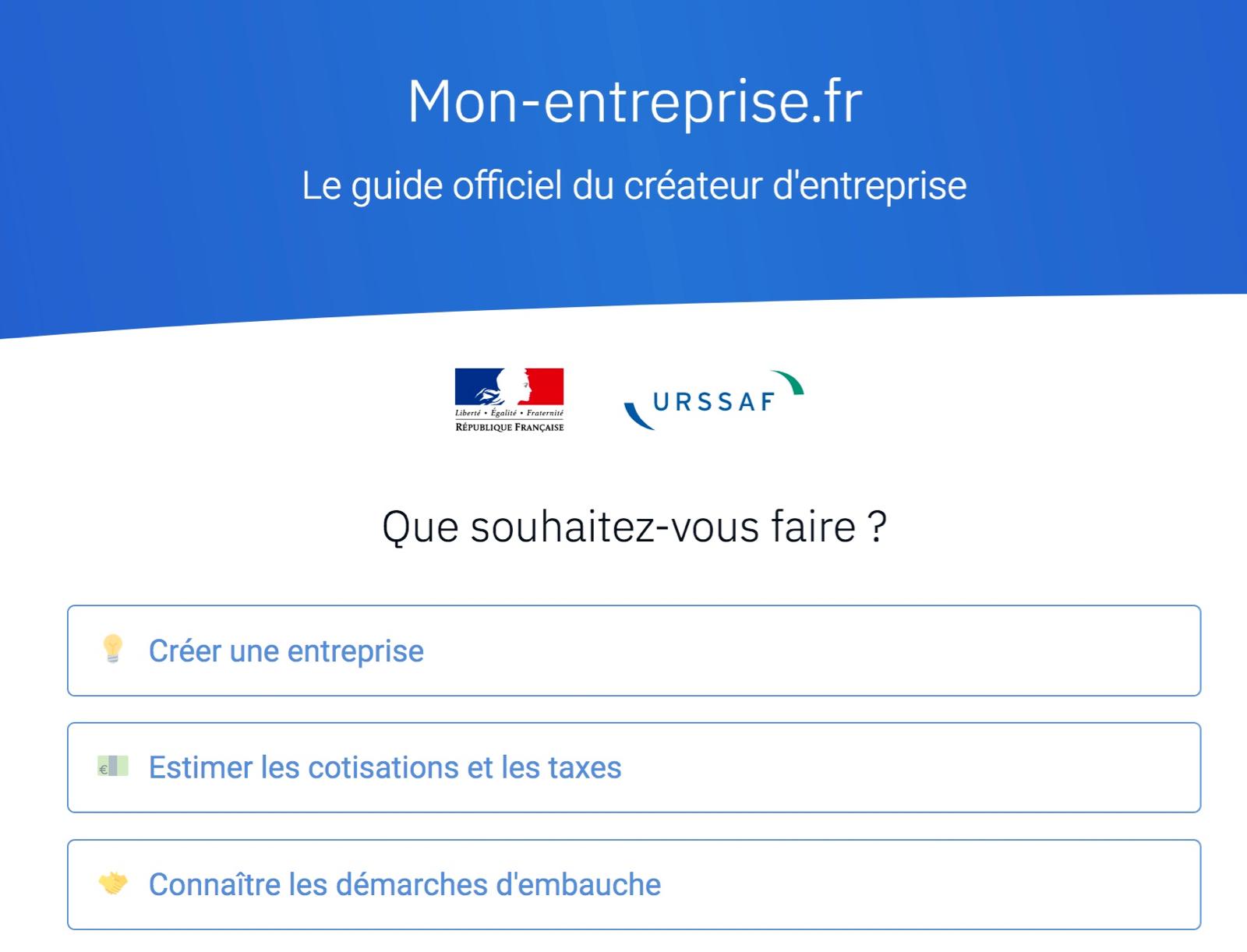 Les Urssaf lancent un site pour accompagner les créateurs d'entreprise