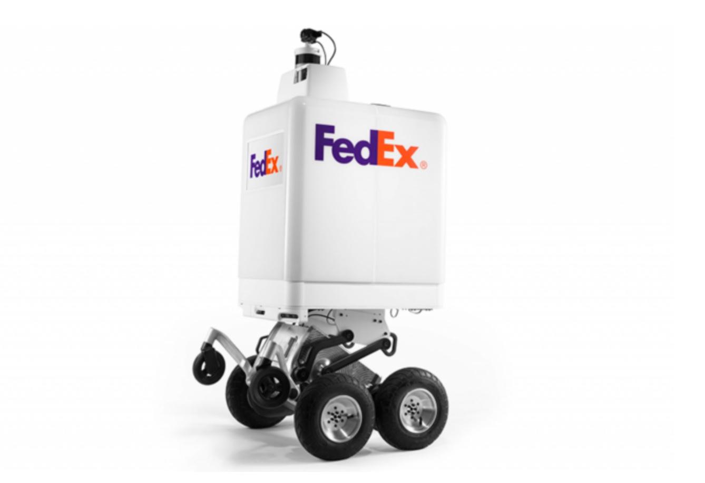 FedEx dévoile son robot de livraison autonome