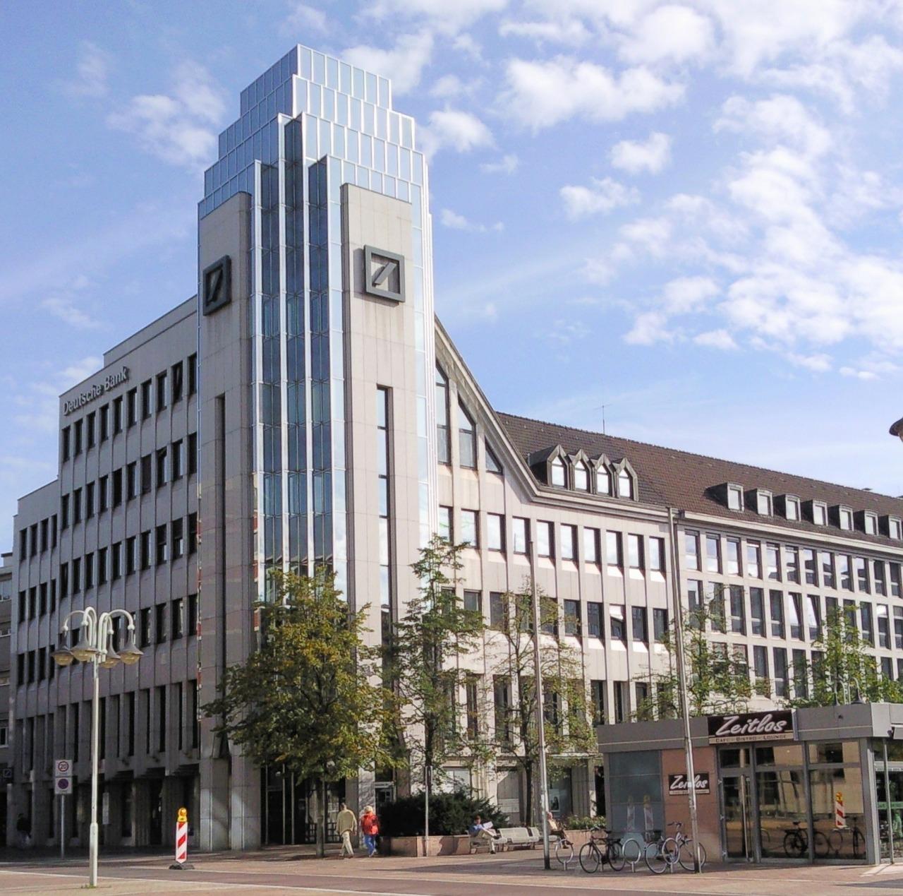 Potion amère pour la Deutsche Bank