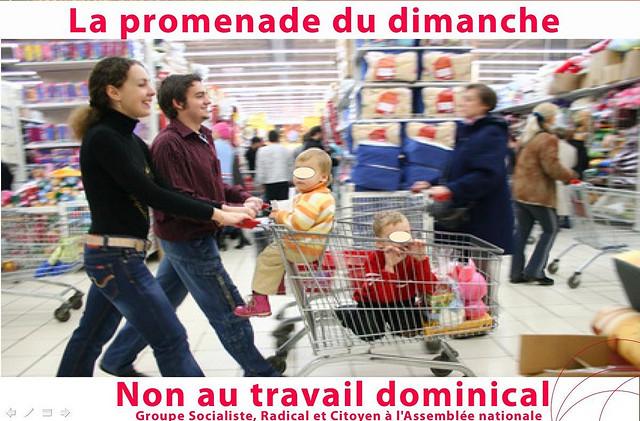 Jean-Marc Ayrault est favorable à une loi pour mieux encadrer le travail du dimanche.