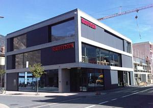 Raiffeisen, par exemple, est un groupe bancaire suisse de coopératives. Crédit: Raffeisen.ch