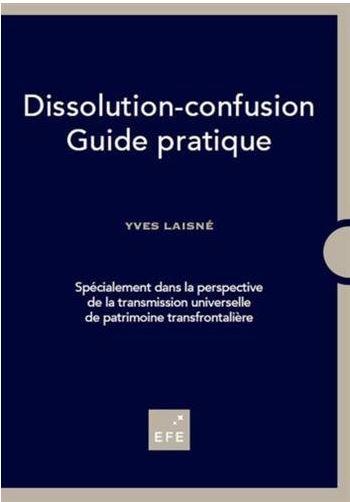 """Yves Laisné: """"La dissolution-confusion est un mécanisme complètement transparent"""""""
