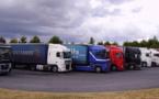 Les transporteurs poursuivent la mobilisation contre l'écotaxe